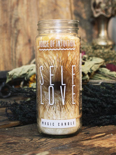 Self Love Magic Candle - House of Intuition