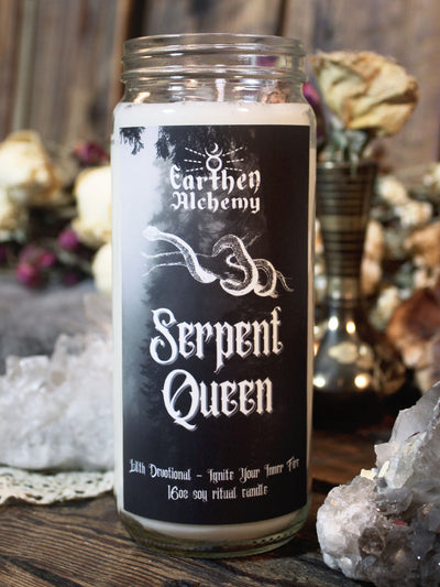 Serpent Queen Ritual Candle