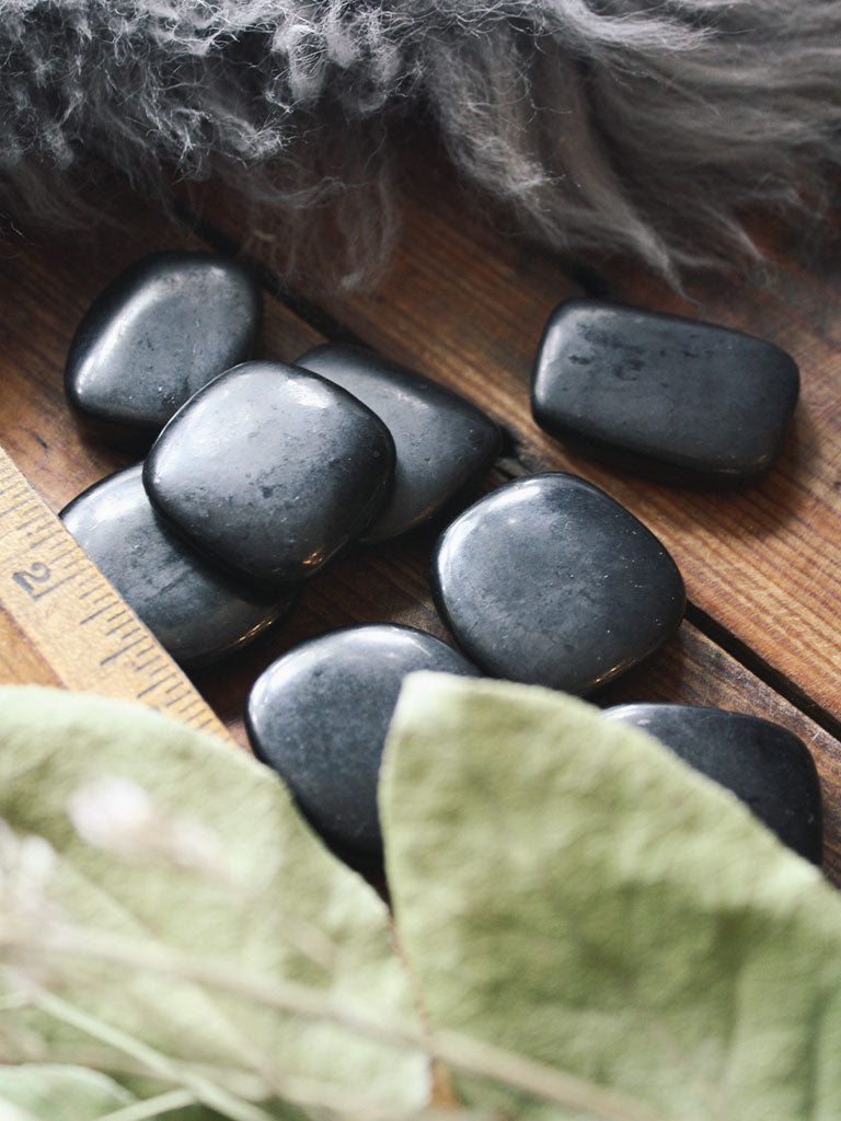 Shungite Pocket Stones