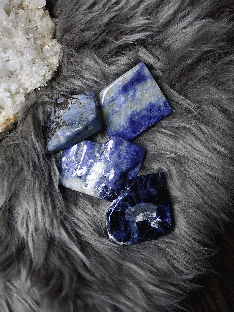 Smooth Sodalite Slabs