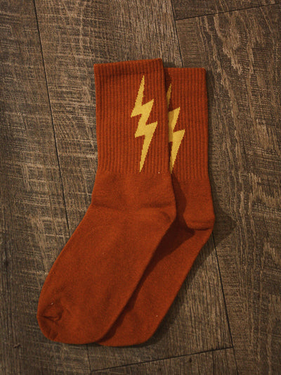 Run Like Lightning Socks 2