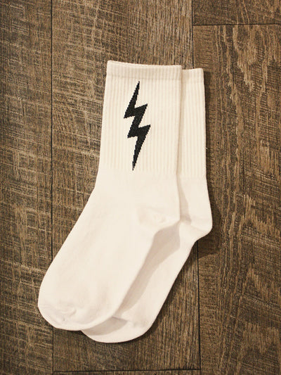Run Like Lightning Socks 4