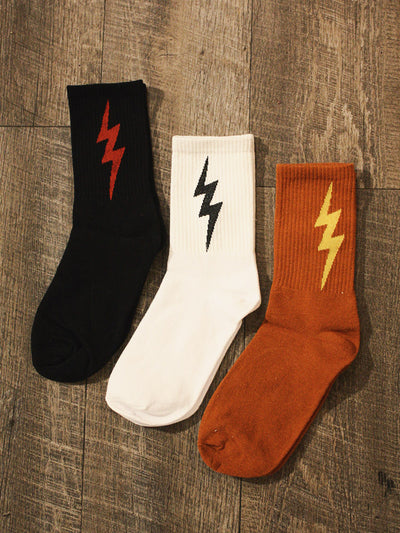 Run Like Lightning Socks
