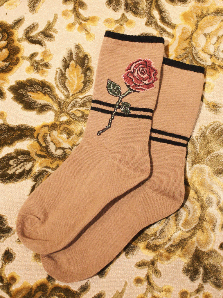 Ukraine Rose Socks