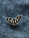 Creepy Enamel Pin