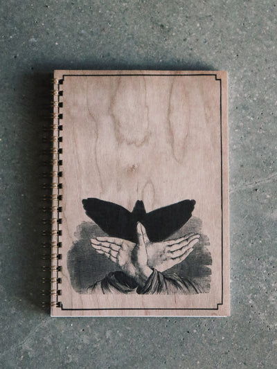 Shadow Bird Notebook