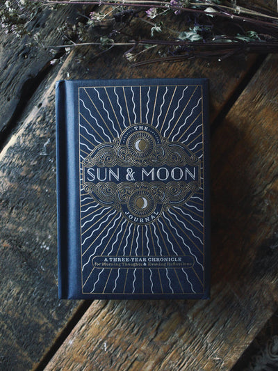 Sun + Moon 3 Year Journal