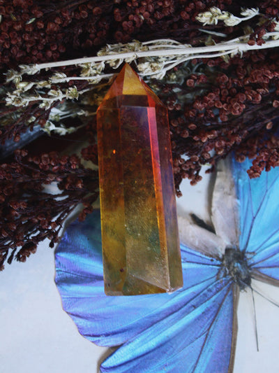 Sunset Aura Quartz Generator - C377