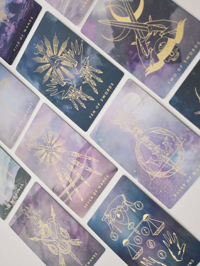 Threads of Fate Weaver Journeyer Tarot Deck