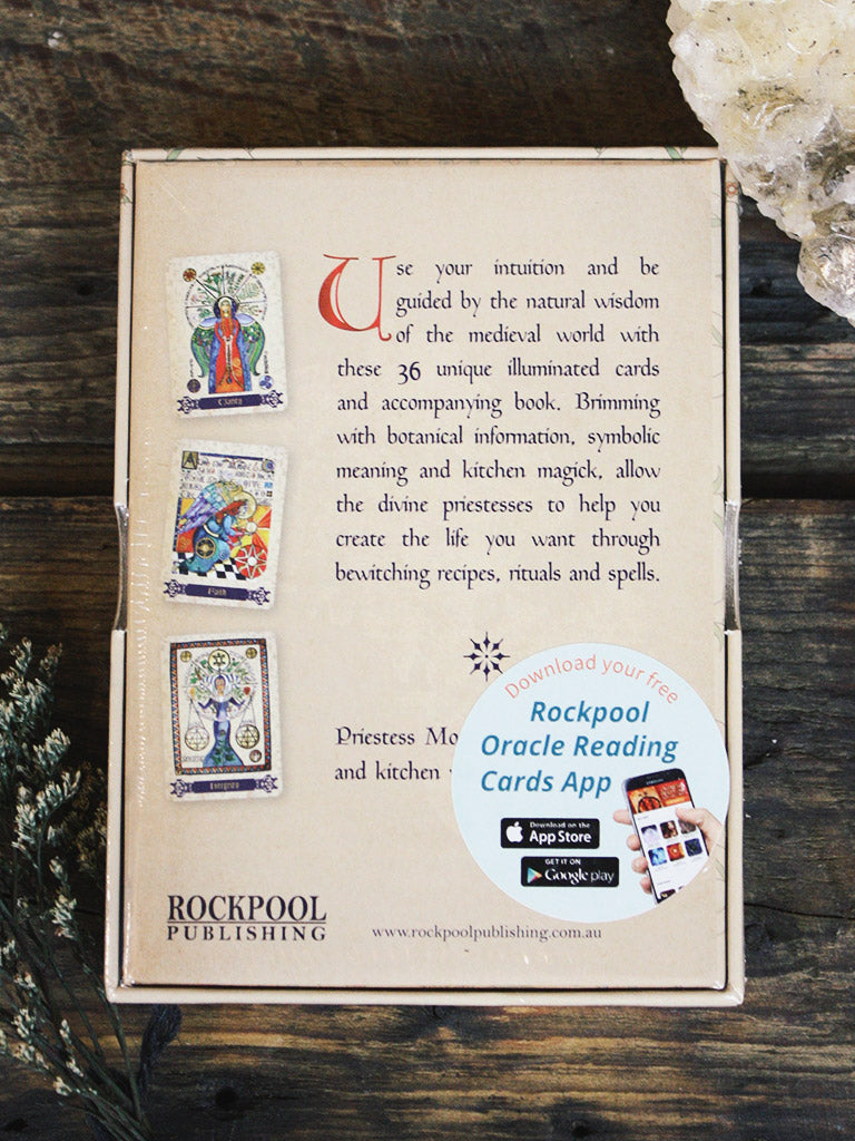 Enchanted Spell Oracle Book + Cards