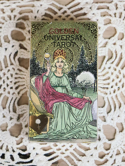 Golden Universal Tarot Deck 2