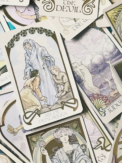 The Ethereal Visions Illuminated Tarot Deck