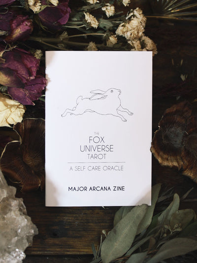 The Fox Tarot - Major Arcana 24 Page Zine