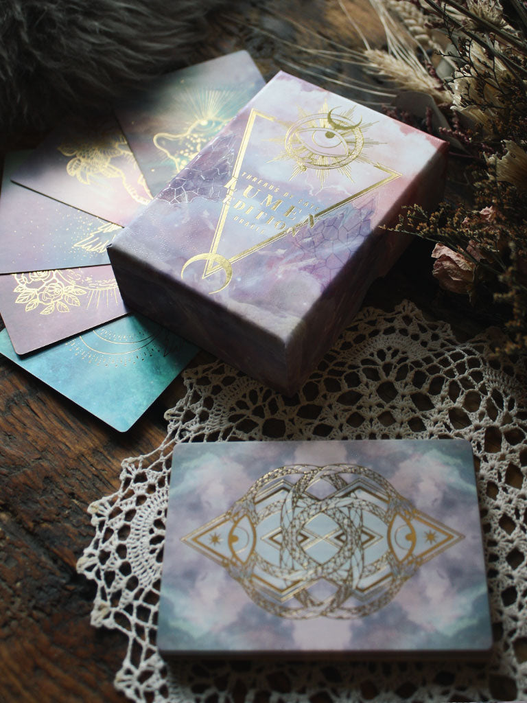Threads of Fate Lumen Oracle Deck