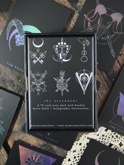 Threads of Fate Weaver Ascendant Tarot Deck