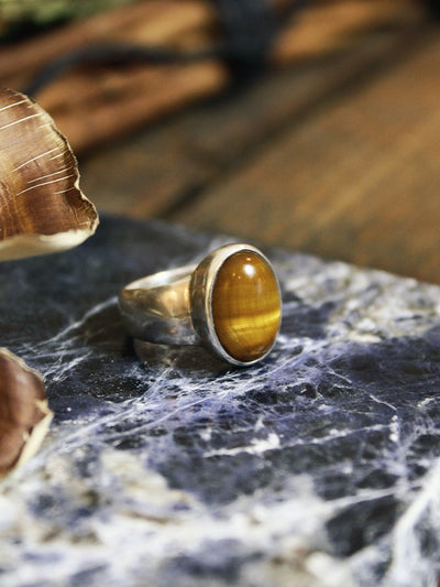 Tigers Eye Ring - R272