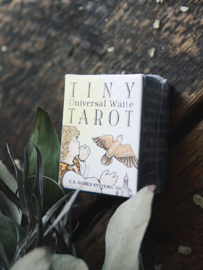 Tiny Universal Waite Tarot Deck