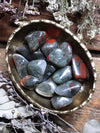 Tumbled African Bloodstone (Seftonite)