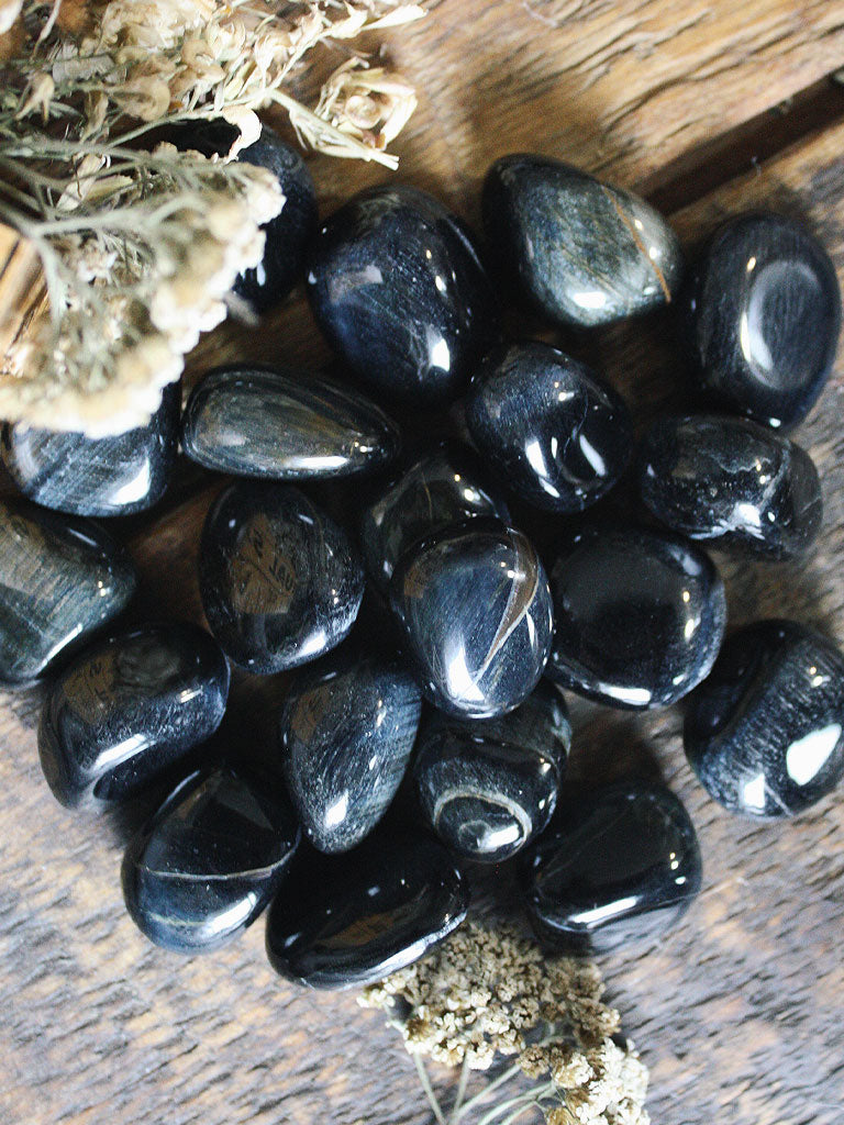 Tumbled Blue Tigers Eye