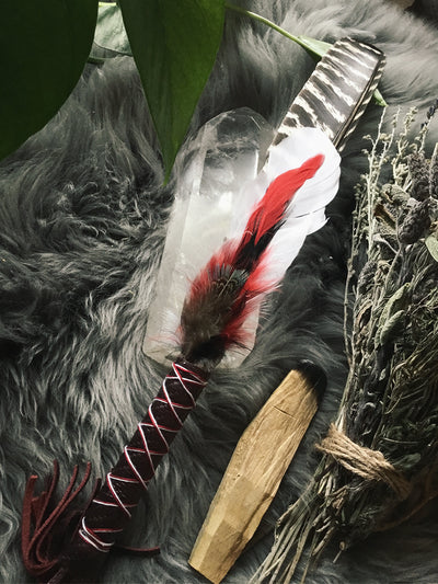 Handcrafted Ritual Cleansing Feathers