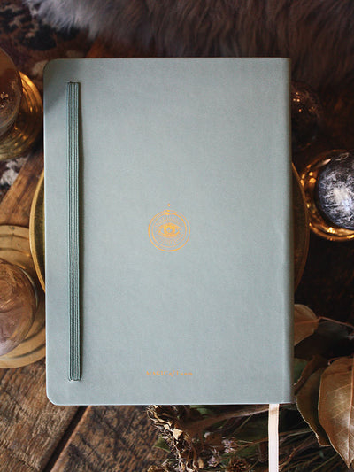 Vegan Leather Journal by Magic of I - Teal