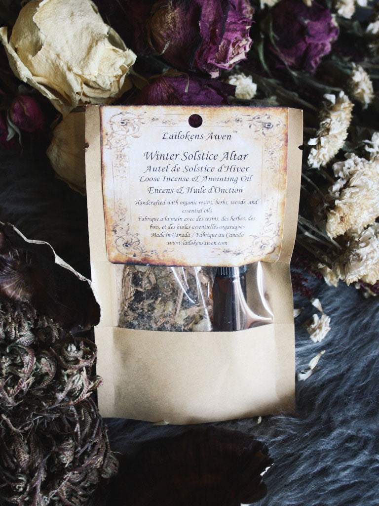 Winter Solstice Incense Ritual Set