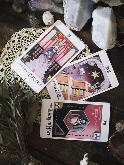 Women of Science Tarot Deck