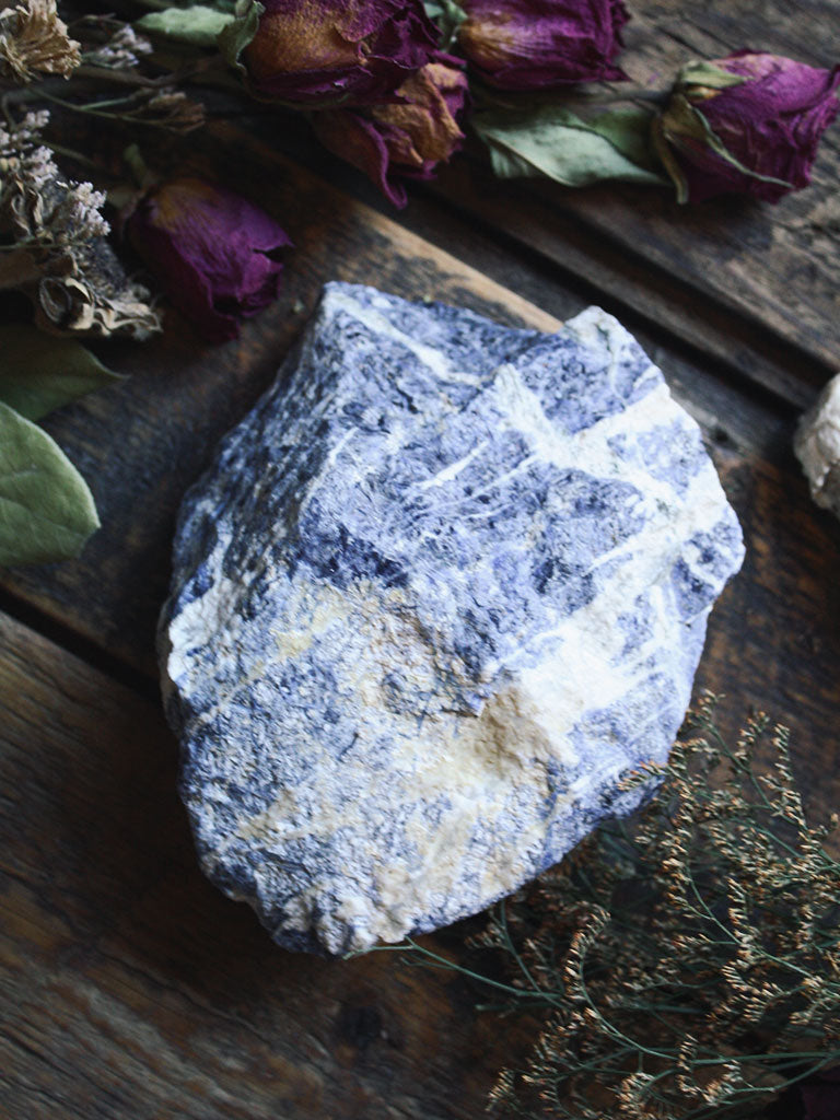 XL Raw Sodalite - C461