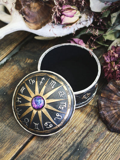 Zodiac Trinket Box