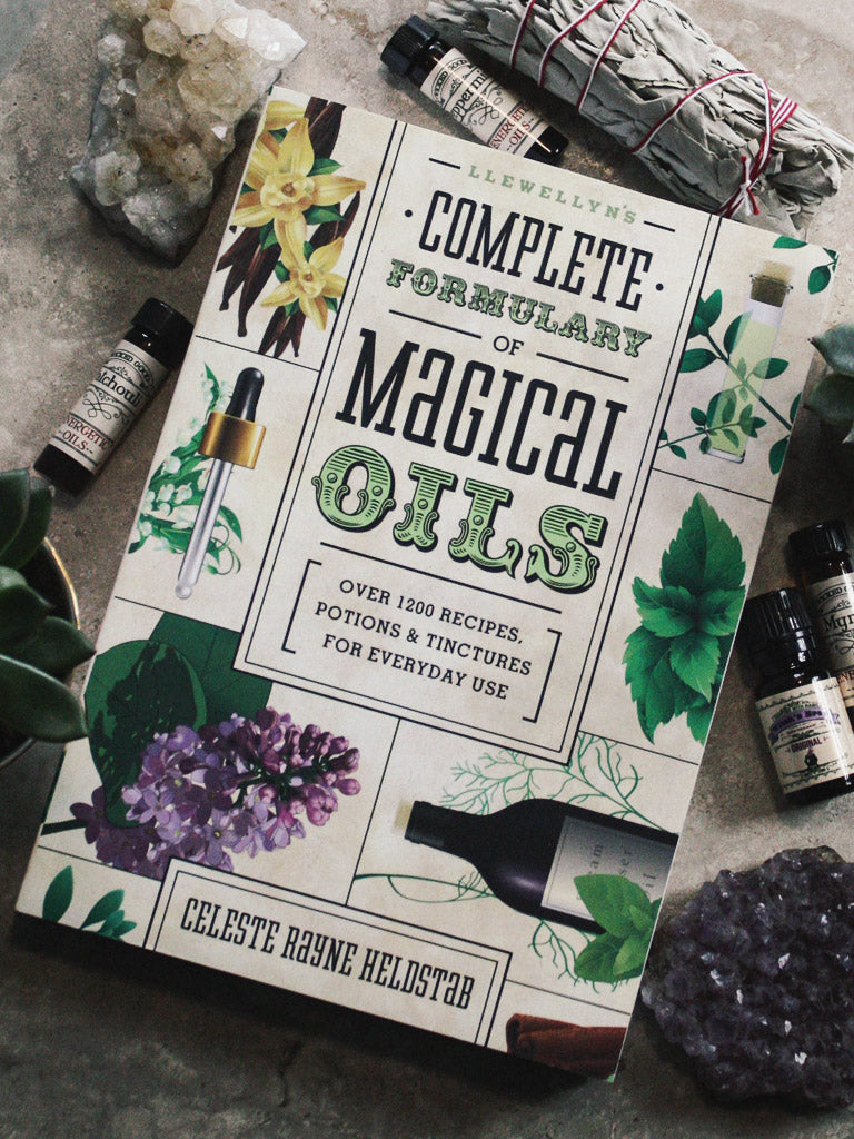 books llewellyns complete formulary of magical oils 1