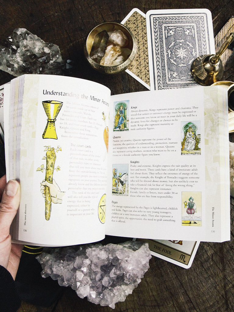 Tarot Bible Book The Definitive Guide to the Cards and Spreads