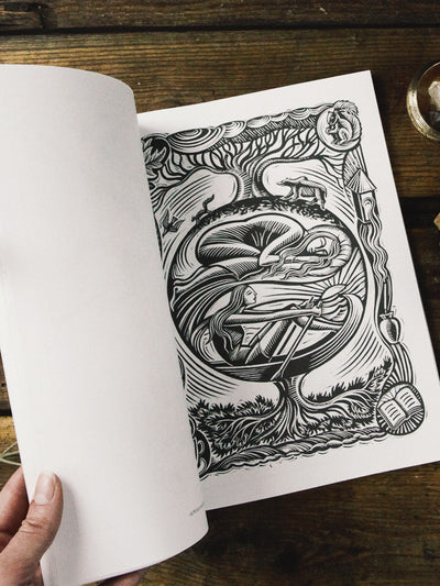 books witch's colouring book 2