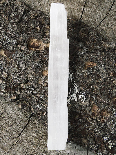 crystals selenite sticks medium