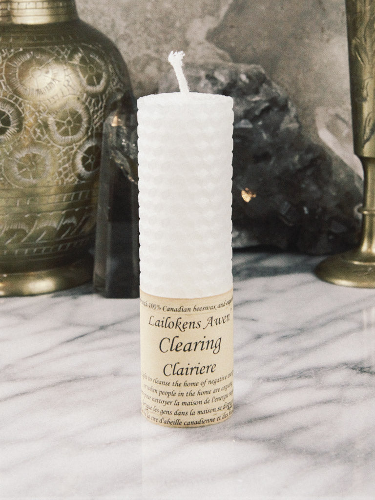 Clearing Spell Candle - Rite of Ritual