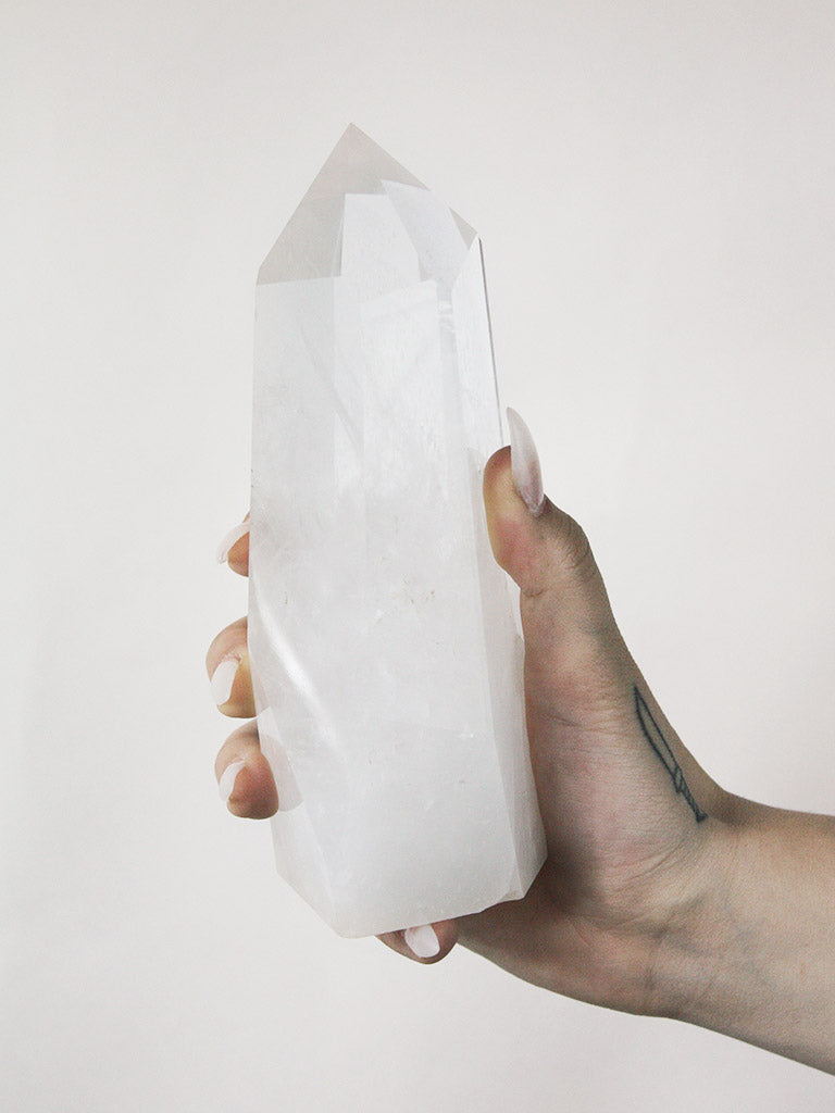 large clear quartz generator A 1