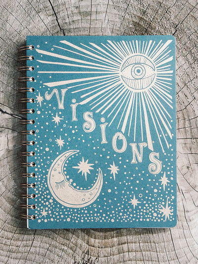 native bear visions spiral journal 1