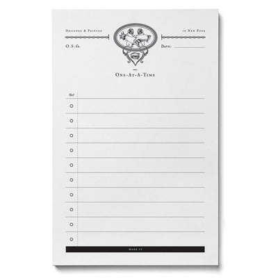 Seeing Eye Notepad