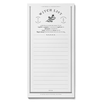 Witch List Market Pad