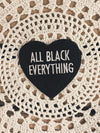 All Black Everything Patch - Rite of Ritual