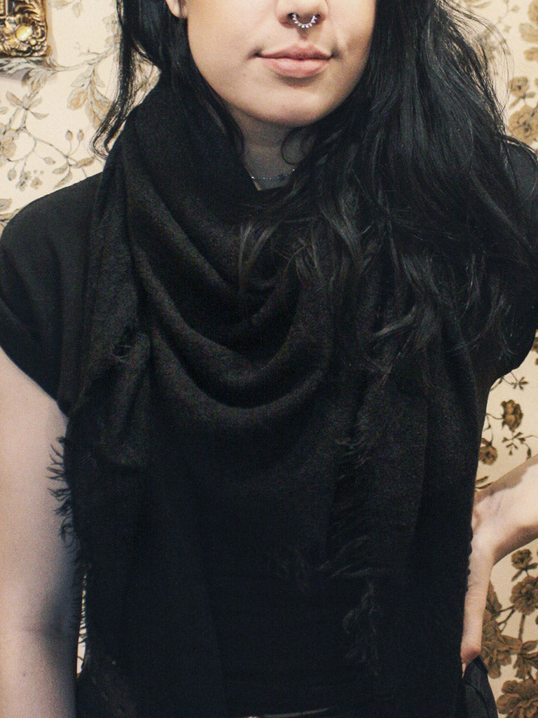 Black Dahlia Scarf - Rite of Ritual