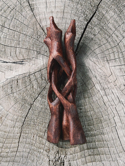 rite of ritual wood cobra stand 2