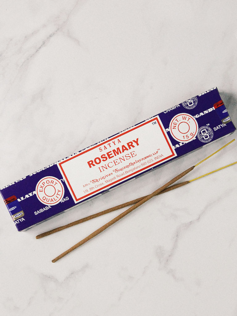 satya rosemary incense 15g