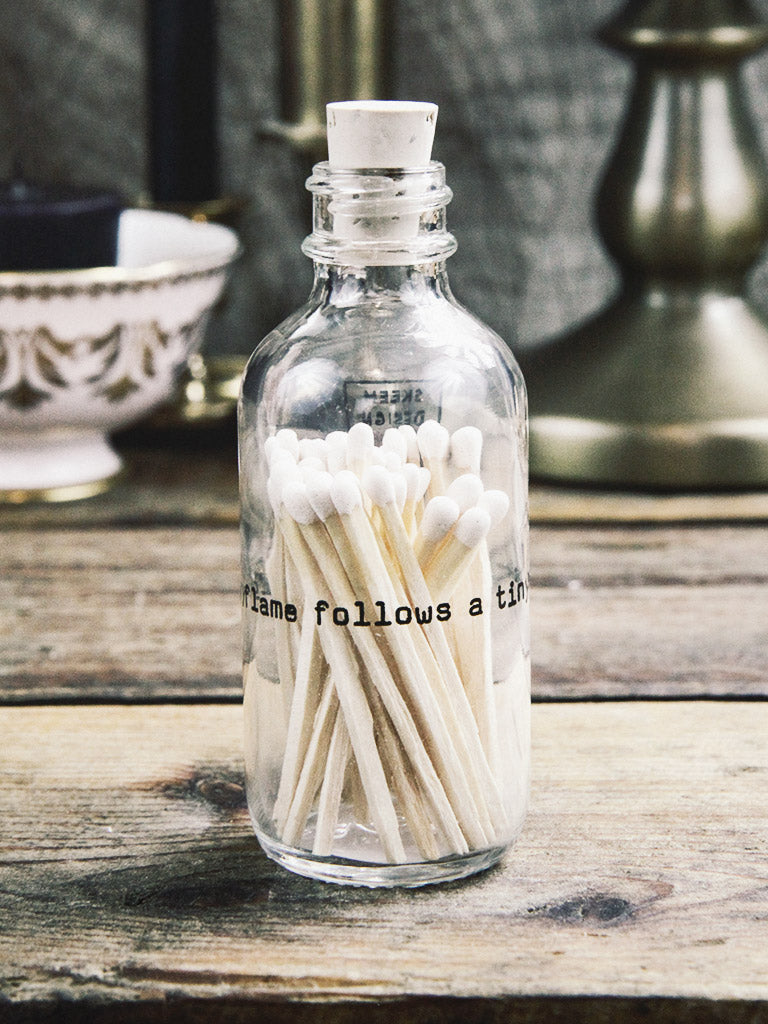 skeem design poetry mini apothecary match bottle 1