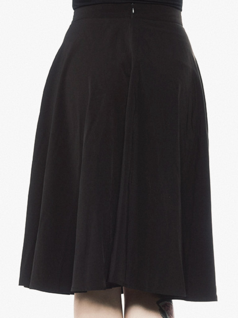 Circle Skirt in Black - Rite of Ritual
