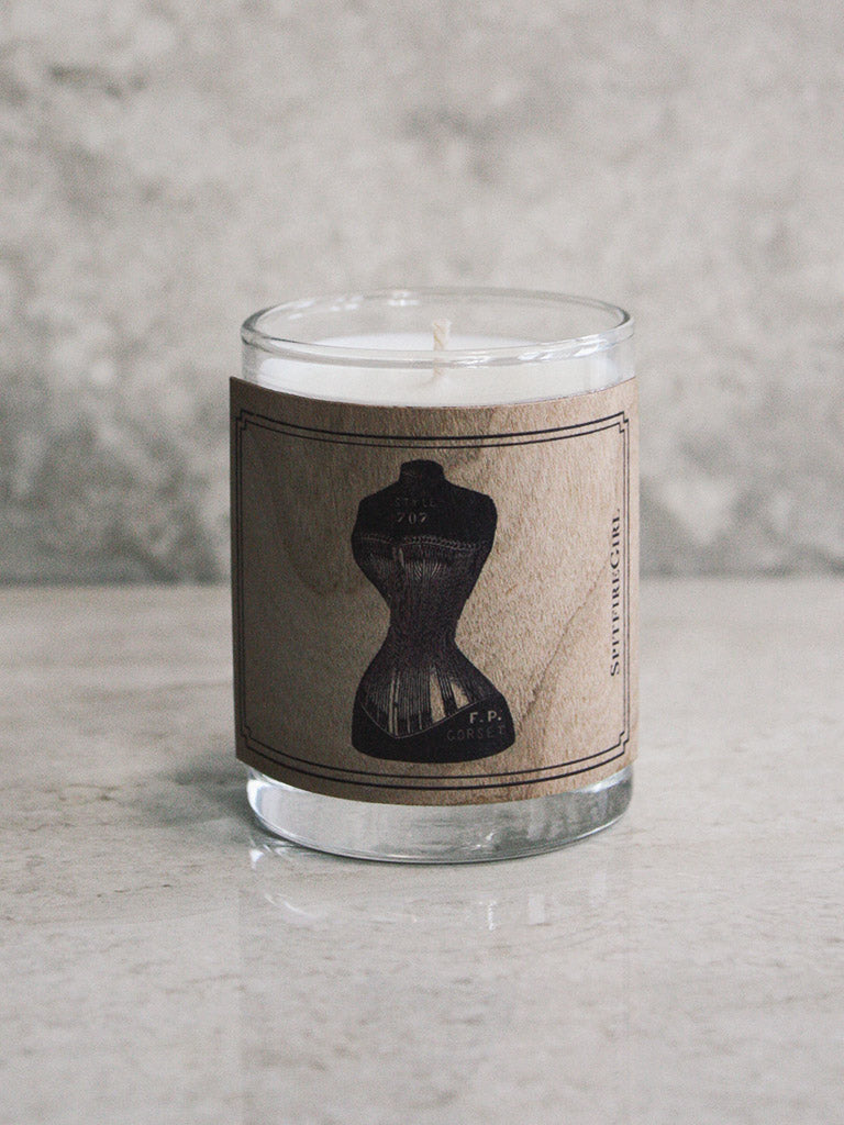 Lady Bust Votive Candle