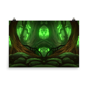 Majestic Woods Poster
