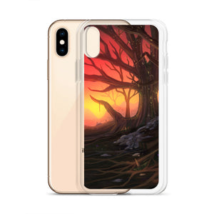 Sunset Valley iPhone Case