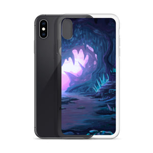 Crystal Heart Cave iPhone Case
