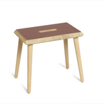 Via-Copenhagen-OTTO-stool-burgundy-linoleum-soap-oak