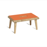 Via-Copenhagen-OTTO-stool-orange-linoleum-soap-oak